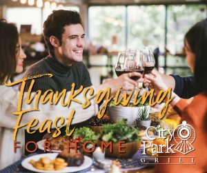 Thanksgiving Feast for Family of 4 @ City Park Grill | Petoskey | Michigan | United States